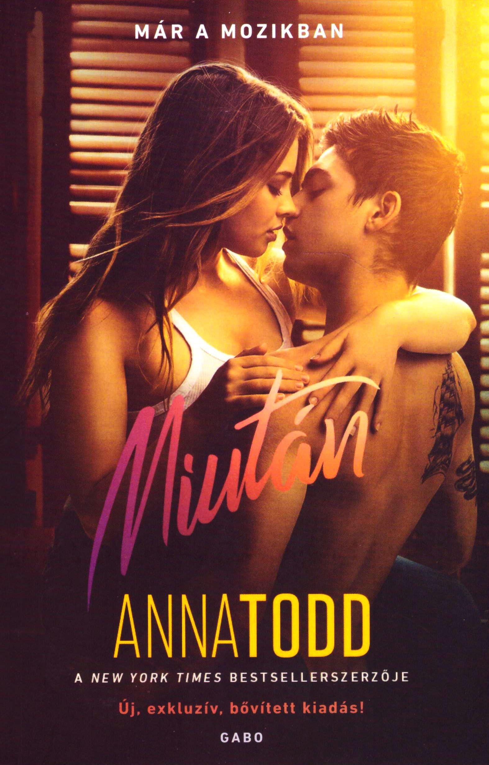 Anna Todd: Miután - Filmes borítóval