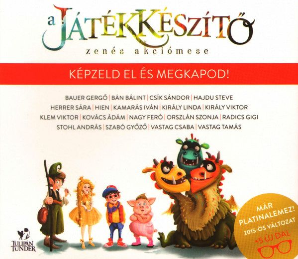A Játékkészítő - CD - Zenés akciómese