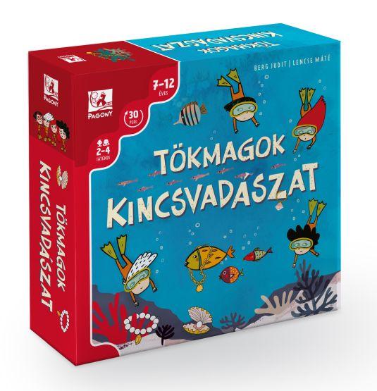 Berg Judit, Lencse Máté: Tökmagok - Kincsvadászat - társasjáték