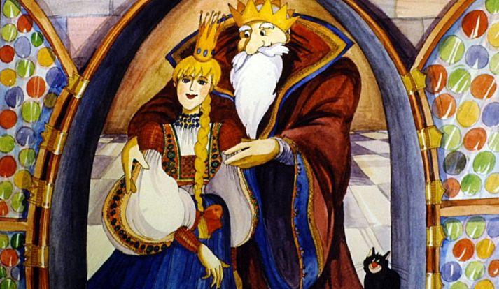 Benedek Elek: Szélike és János királyfi - diafilm