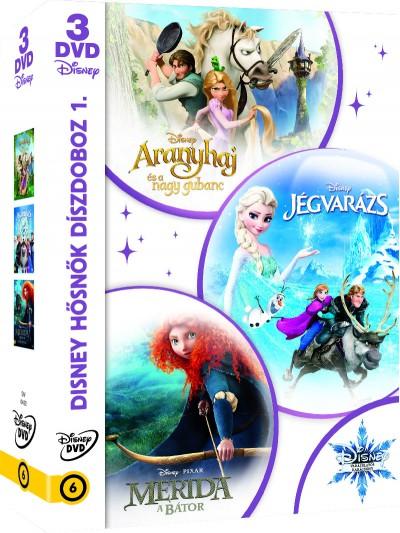 Disney hősnők díszdoboz 1. - DVD