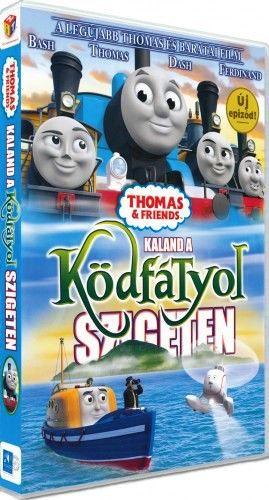 Greg Tiernan: Thomas, a gőzmozdony - Kaland a Ködfátyol szigeten - DVD