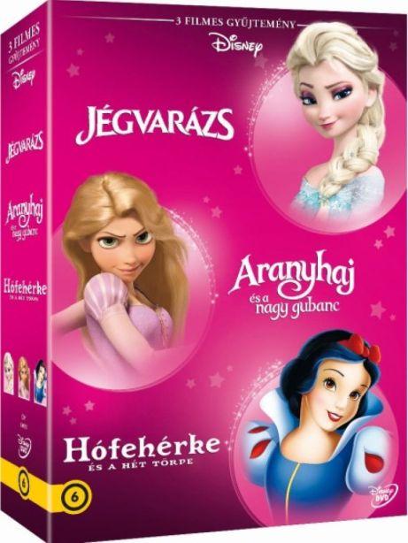 Disney Hősnők 3. - díszdoboz - DVD