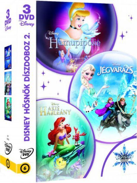 Disney hősnők díszdoboz 2. - DVD