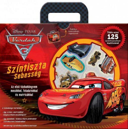 Disney - Verdák 3. - Színtiszta sebesség - Táskakönyv